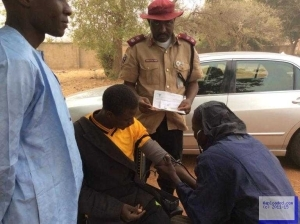 Photos: High Blood Pressure Test For Drivers In Sokoto State By FRSC